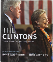 "Bill Clinton & Hillary Clinton Signed ""The Clintons"" Hardcover Book (PSA LOA) at PristineAuction.com"