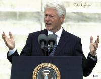 Bill Clinton Signed 11x14 Photo (Beckett LOA) at PristineAuction.com