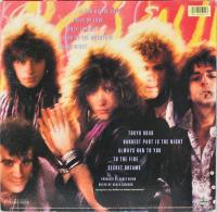 "Bon Jovi ""7800 Fahrenheit"" Album Cover Display Signed by (4) with Jon Bon Jovi, Tico Torres, David Bryan, & Richie Sambora (Beckett LOA) at PristineAuction.com"
