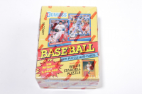 1991 Donruss Series 1 Baseball Trading Card Box with (36) Packs at PristineAuction.com