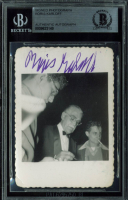 Boris Karloff Signed 2.5x3.5 Photo (BGS Encapsulated) at PristineAuction.com
