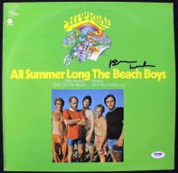 "Brian Wilson Signed The Beach Boys ""All Summer Long"" Vinyl Record Album Cover (PSA LOA) at PristineAuction.com"
