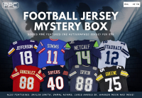 Press Pass Collectibles 2021 Football Jersey Mystery Box - Series 1 (Limited to 50) at PristineAuction.com