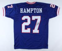 Rodney Hampton Signed Jersey (JSA COA) at PristineAuction.com