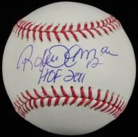 "Roberto Alomar Signed OML Baseball Inscribed ""HOF 2011"" (Mounted Memories Hologram) at PristineAuction.com"