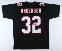 Jamal Anderson Signed Jersey (JSA COA) (See Description) at PristineAuction.com