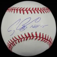 """Craig Biggio Signed OML Baseball Inscribed """"HOF 15"""" (TriStar Hologram & Steiner Hologram) at PristineAuction.com"""