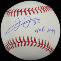 "Frank Thomas Signed OML Baseball Inscribed ""HOF 2014"" (Steiner COA) at PristineAuction.com"