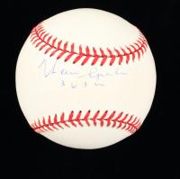 "Warren Spahn Signed ONL Baseball Inscribed ""363 Wins"" (PSA COA) (See Description) at PristineAuction.com"