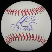 "Matt Cain Signed OML Baseball Inscribed ""P.G. 6/13/12"" (MLB Hologram & Mounted Memories Hologram) at PristineAuction.com"