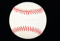 "Willie Mays Signed OML Baseball Inscribed ""HOF 74"" (JSA COA) (See Description) at PristineAuction.com"