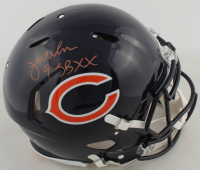 """Jim McMahon Signed Bears Full-Size Authentic On-Field Speed Helmet Inscribed """"SB XX"""" (Beckett COA) at PristineAuction.com"""