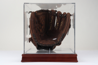 Brooks Robinson Signed Rawlings Baseball Glove With Multiple Inscriptions with Display Case (PSA COA) at PristineAuction.com