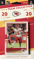 2020 Donruss Kansas City Chiefs Sealed Team Collection Card Set with Clyde Edwards-Helaire #321 RC, Tyreek Hill #2, Patrick Mahomes II #1B at PristineAuction.com