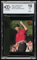 Tiger Woods 2001 Upper Deck Tiger's Tales #TT18 (BCCG 10) at PristineAuction.com