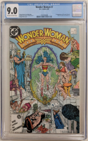 "1987 ""Wonder Woman"" Issue #7 DC Comic Book (CGC 9.0) at PristineAuction.com"