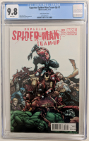 "2013 ""Superior Spider-Man Team-Up"" Issue #1 Humberto Ramos Variant Marvel Comic Book (CGC 9.8) at PristineAuction.com"