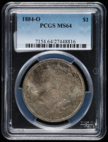 1884-O Morgan Silver Dollar (PCGS MS64) at PristineAuction.com