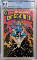 "1983 ""Omega Men"" Issue #3 DC Comic Book (CGC 9.4) at PristineAuction.com"