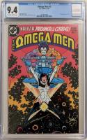 "1983 ""Omega Men"" Issue #3 DC Comic Book (CGC 9.4) at PristineAuction.com"