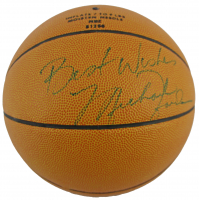 "Michael Jordan Signed Wilson Pro Basketball Inscribed ""Best Wishes"" (JSA LOA) at PristineAuction.com"