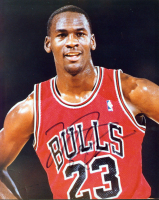 Michael Jordan Signed Bulls 8x10 Photo (JSA LOA) at PristineAuction.com
