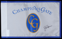 Jack Nicklaus Signed Champions Gate Golf Pin Flag (Beckett LOA) at PristineAuction.com