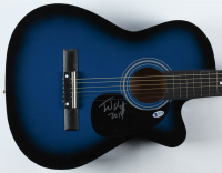"Fred Durst Signed 38"" Acoustic Guitar Inscribed ""2019"" (Beckett Hologram) at PristineAuction.com"