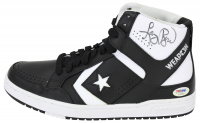 Larry Bird Signed Pair of (2) Converse Shoes (PSA COA & Bird Hologram) at PristineAuction.com