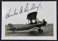 Charles Lindbergh Signed 2.5x3.5 Photo (Beckett LOA) at PristineAuction.com