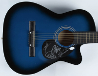 """38"""" Acoustic Guitar Signed By (4) With Scott Stapp, Mark Tremonti, Brian Marshall, & Scott Phillips (JSA COA) (See Description) at PristineAuction.com"""