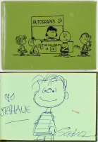 "Charles Schulz Signed ""Peanuts"" Autograph Hardback Book with Hand-Drawn Sketch (Beckett LOA) at PristineAuction.com"