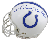 Johnny Unitas Signed Colts Mini-Helmet (JSA LOA) at PristineAuction.com