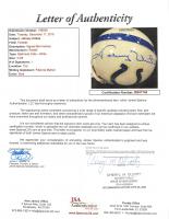 Johnny Unitas Signed Colts Mini-Helmet (JSA LOA) at PristineAuction.com
