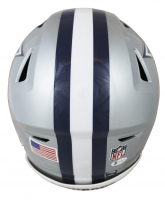 Emmitt Smith Signed Cowboys Full-Size Authentic On-Field SpeedFlex Helmet (Beckett COA) at PristineAuction.com