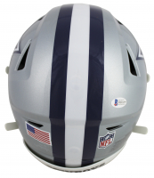Ezekiel Elliott Signed Cowboys Full-Size Authentic On-Field SpeedFlex Helmet (Beckett COA) at PristineAuction.com