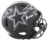 "Tony Romo & Jason Witten Signed Cowboys Full-Size Authentic On-Field Eclipse Alternate Speed Helmet Inscribed ""America's Team"" (Beckett COA & Witten Hologram) at PristineAuction.com"