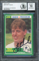 Troy Aikman 1989 Score #270 RC (BGS Encapsulated) at PristineAuction.com