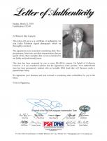 Jackie Robinson Signed 3.75x3.75 Photo (PSA LOA) at PristineAuction.com
