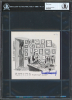 Donald Trump Signed 5.75x6 Cut (BGS Encapsulated) at PristineAuction.com