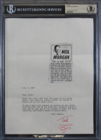 Dr. Seuss Signed Letter (BGS Encapsulated) at PristineAuction.com
