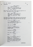 """""""E.R"""" Pilot Episode Script Cast-Signed by (8) with George Clooney, Michael Crichton, Anthony Edwards, Eriq LaSalle (Beckett LOA) at PristineAuction.com"""