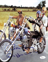 "Jack Nicholson, Peter Fonda, & Dennis Hopper Signed ""Easy Rider"" 8.5x11 Photo (JSA LOA) at PristineAuction.com"