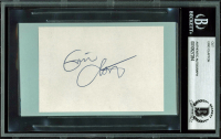 Eric Clapton Signed 2.75x4 Cut (BGS Encapsulated) at PristineAuction.com