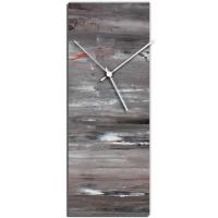City Cinder 24x9 Clock by Mendo Vasilevski at PristineAuction.com