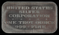 """Vintage 1974 1 Troy Ounce .999 Fine Silver """"Mother Means Love"""" Bullion Bar at PristineAuction.com"""
