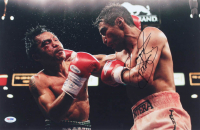 """Manny Pacquiao Signed 12x18 Photo Inscribed """"Pacman"""" (PSA COA) at PristineAuction.com"""