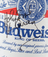Harry Caray Signed Budweiser Bottle (Beckett COA) at PristineAuction.com