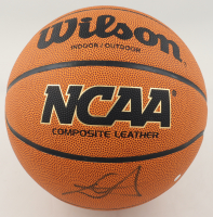 Deandre Ayton Signed NCAA Basketball with Display Case (Steiner COA & Fanatics Hologram) (See Description) at PristineAuction.com