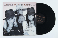 """Destiny's Child """"Lose my Breath"""" Album Cover Signed by (3) with Beyonce, Kelly Rowland, & Michelle Williams (Beckett LOA) at PristineAuction.com"""